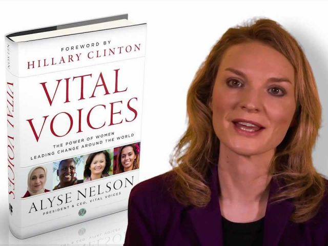 Alyse Nelson Vital Voices