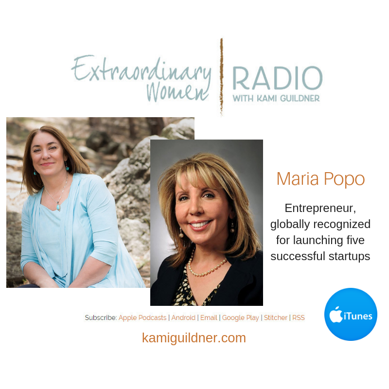 Maria Popo: Entrepreneur, globally recognized for launching five