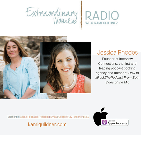 Jessica Rhodes: Founder of Interview Connections, the first and leading podcast booking agency