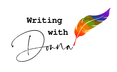 Writing with Donna Logo - 400x245